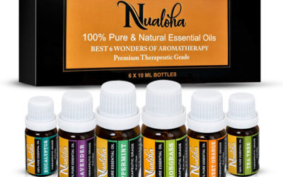 Aromatherapy Best Essential Oils Collection(Pack of 6)