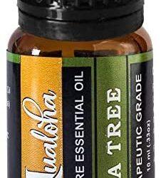 Australian Tea Tree Essential Oil, 100% Pure, Natural Premium Therapeutic Grade Oil For Aromatherapy Diffusers, Skin & Body Care- 10 ml